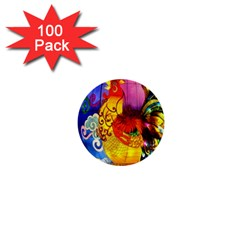 Chinese Zodiac Signs 1  Mini Buttons (100 pack)