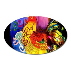 Chinese Zodiac Signs Oval Magnet