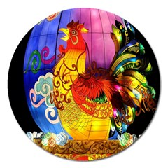 Chinese Zodiac Signs Magnet 5  (Round)