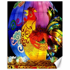 Chinese Zodiac Signs Canvas 16  x 20