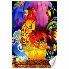 Chinese Zodiac Signs Canvas 24  X 36