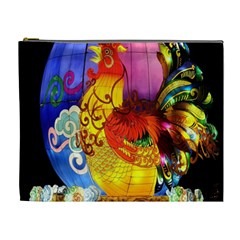 Chinese Zodiac Signs Cosmetic Bag (xl)