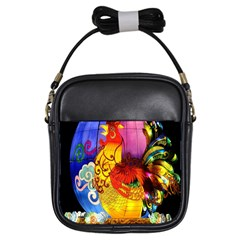 Chinese Zodiac Signs Girls Sling Bags