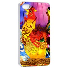 Chinese Zodiac Signs Apple iPhone 4/4s Seamless Case (White)