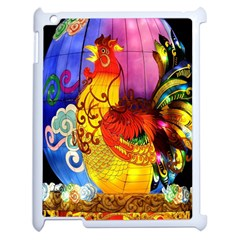 Chinese Zodiac Signs Apple iPad 2 Case (White)