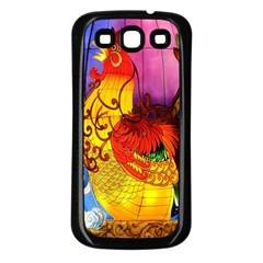 Chinese Zodiac Signs Samsung Galaxy S3 Back Case (Black)