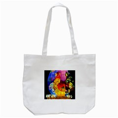 Chinese Zodiac Signs Tote Bag (White)