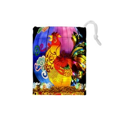 Chinese Zodiac Signs Drawstring Pouches (Small)