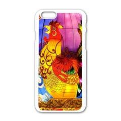 Chinese Zodiac Signs Apple iPhone 6/6S White Enamel Case