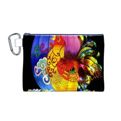 Chinese Zodiac Signs Canvas Cosmetic Bag (M)