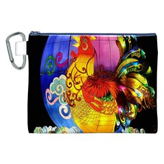 Chinese Zodiac Signs Canvas Cosmetic Bag (XXL)