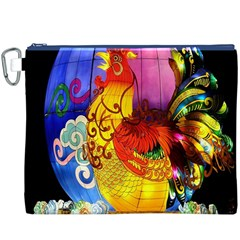 Chinese Zodiac Signs Canvas Cosmetic Bag (XXXL)