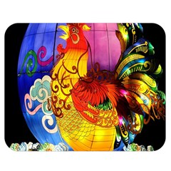 Chinese Zodiac Signs Double Sided Flano Blanket (medium)