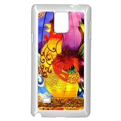 Chinese Zodiac Signs Samsung Galaxy Note 4 Case (White)