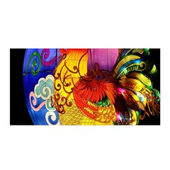 Chinese Zodiac Signs Satin Wrap