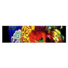 Chinese Zodiac Signs Satin Scarf (Oblong)