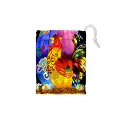 Chinese Zodiac Signs Drawstring Pouches (XS)