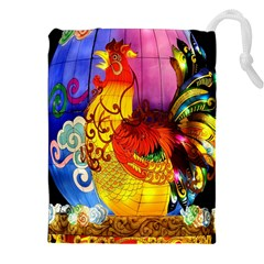 Chinese Zodiac Signs Drawstring Pouches (XXL)