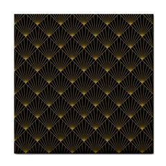 Abstract Stripes Pattern Tile Coasters
