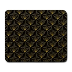 Abstract Stripes Pattern Large Mousepads