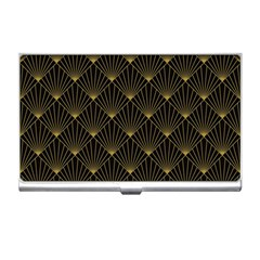 Abstract Stripes Pattern Business Card Holders
