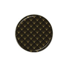 Abstract Stripes Pattern Hat Clip Ball Marker