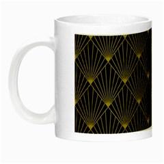 Abstract Stripes Pattern Night Luminous Mugs