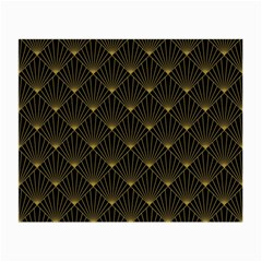 Abstract Stripes Pattern Small Glasses Cloth