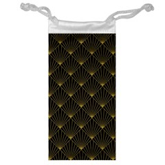 Abstract Stripes Pattern Jewelry Bag