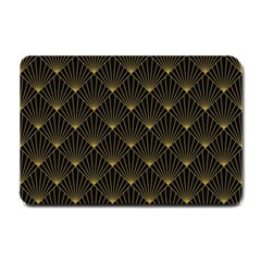 Abstract Stripes Pattern Small Doormat