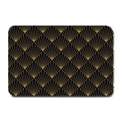 Abstract Stripes Pattern Plate Mats