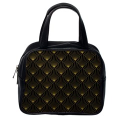 Abstract Stripes Pattern Classic Handbags (one Side)