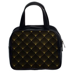 Abstract Stripes Pattern Classic Handbags (2 Sides)