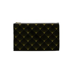 Abstract Stripes Pattern Cosmetic Bag (Small)