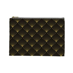 Abstract Stripes Pattern Cosmetic Bag (Large)