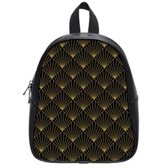Abstract Stripes Pattern School Bags (Small)