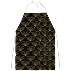 Abstract Stripes Pattern Full Print Aprons