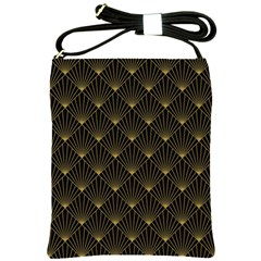 Abstract Stripes Pattern Shoulder Sling Bags
