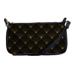 Abstract Stripes Pattern Shoulder Clutch Bags