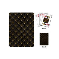 Abstract Stripes Pattern Playing Cards (Mini)