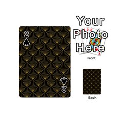 Abstract Stripes Pattern Playing Cards 54 (Mini)