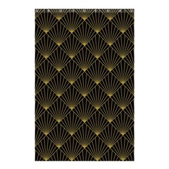Abstract Stripes Pattern Shower Curtain 48  x 72  (Small)