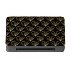 Abstract Stripes Pattern Memory Card Reader with CF