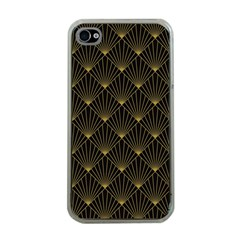 Abstract Stripes Pattern Apple iPhone 4 Case (Clear)