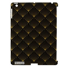 Abstract Stripes Pattern Apple iPad 3/4 Hardshell Case (Compatible with Smart Cover)