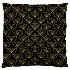 Abstract Stripes Pattern Large Cushion Case (One Side)