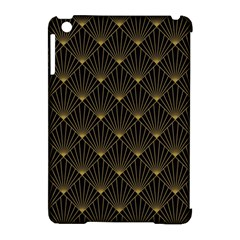 Abstract Stripes Pattern Apple iPad Mini Hardshell Case (Compatible with Smart Cover)