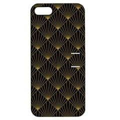 Abstract Stripes Pattern Apple iPhone 5 Hardshell Case with Stand