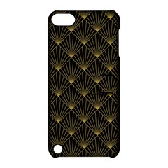 Abstract Stripes Pattern Apple iPod Touch 5 Hardshell Case with Stand