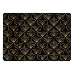 Abstract Stripes Pattern Samsung Galaxy Tab 10.1  P7500 Flip Case